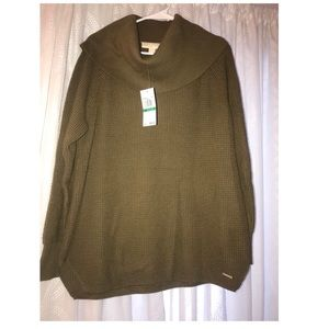 Authentic NWT Michael Kors cowl neck sweater
